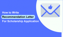 How To Write A Good Recommendation Letter For Scholarship Application (8 Sample Examples PDF)