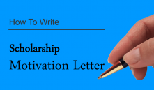 How To Write A Good Motivation Letter For Scholarship (4 PDF Sample Examples)