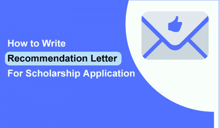 Recommendation Letter Sample Pdf from www.scholarshiptab.com