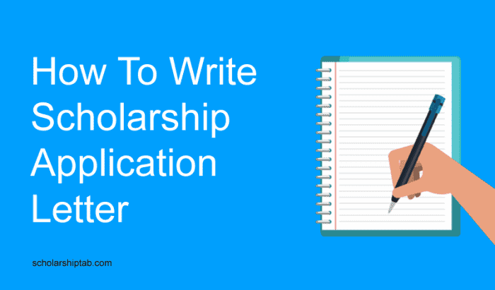 How to Write a Good Scholarship Application Letter (6 PDF Sample Examples)